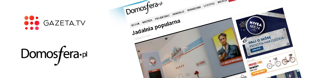 "GAZETA.TV NAGRYWA FILM. Główny bohater PRL i ""Jadalnia POPULARNA""."