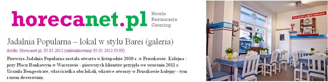 horecanet.pl – SPECJALISTA OD SPRAW HOTELI, RESTAURACJI, CATERINGU – NAPISAŁ O NAS ARTYKUŁ ;)